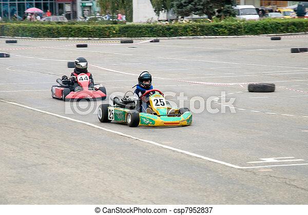 rennsport, kart - csp7952837