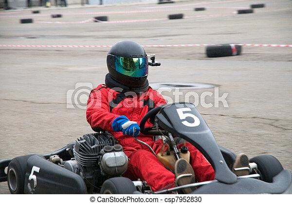 rennsport, kart - csp7952830