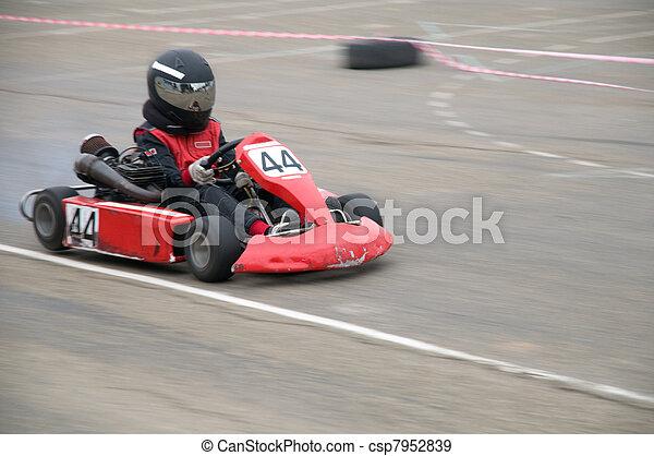 rennsport, kart - csp7952839