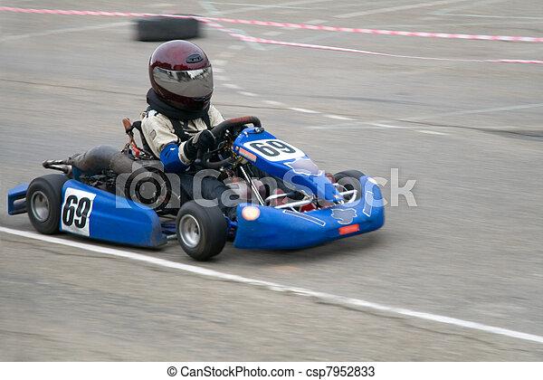 rennsport, kart - csp7952833
