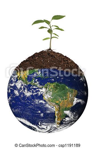 renouveler, la terre - csp1191189