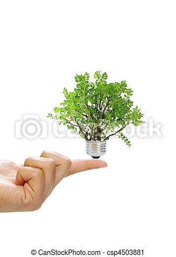 El concepto de energía renovable - csp4503881