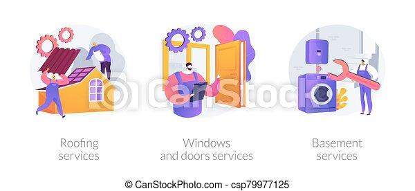 renovación, hogar, metáforas - csp79977125