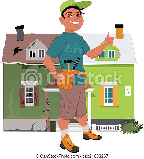 Renovate a house - csp21603267