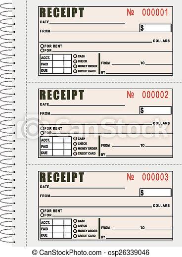rent receipt book csp26339046