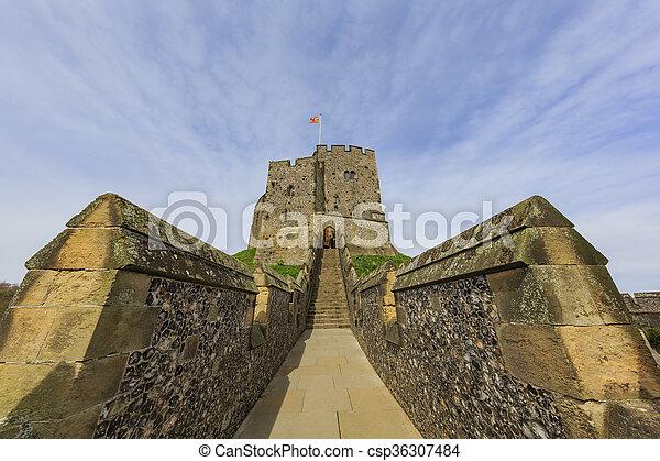 repère, château, arundel, historique - csp36307484
