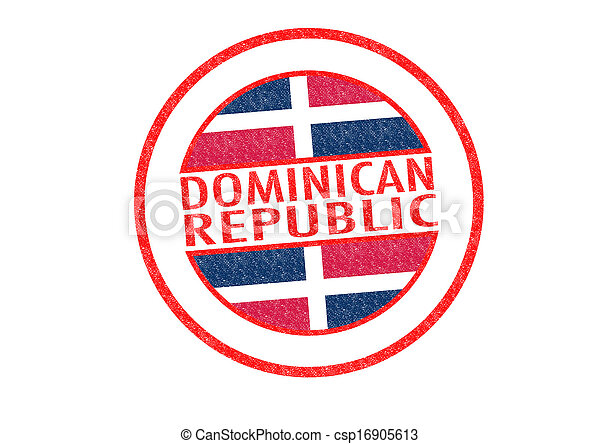república, dominicano - csp16905613
