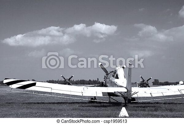 repülőgép, öreg - csp1959513