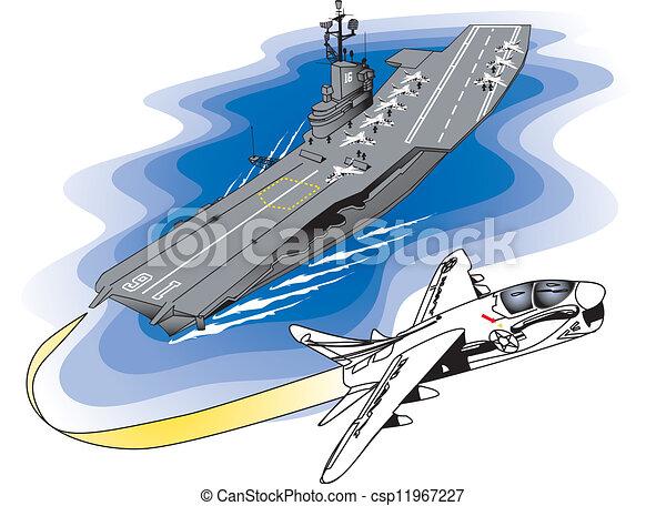 repülőgép-anyahajó - csp11967227