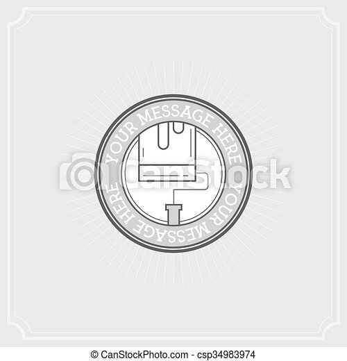 Repair Project. Flat Illustration Set of Line Modern Icons - csp34983974