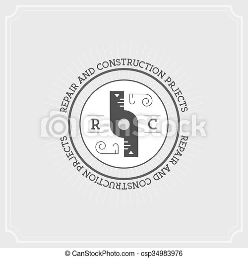 Repair Project. Flat Illustration Set of Line Modern Icons - csp34983976