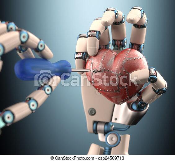 Repairing The Heart - csp24509713