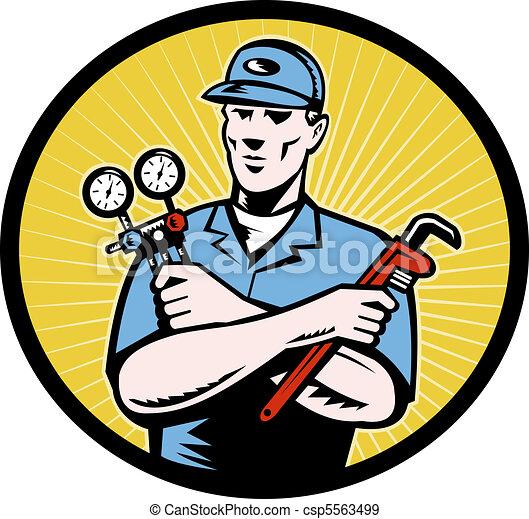 repairman tradesman - csp5563499