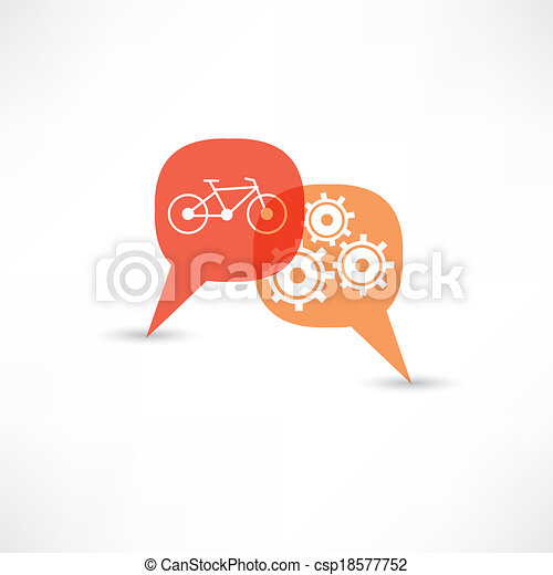 Repara una bicicleta - csp18577752