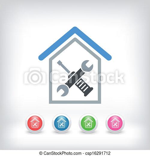 Reparación del hogar - csp16291712