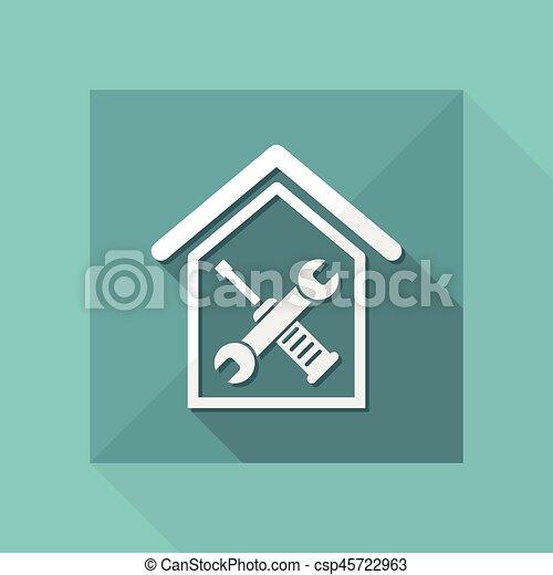 Reparación del hogar - csp45722963