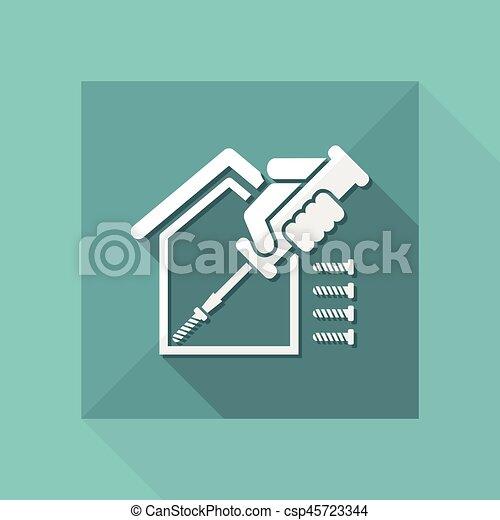 Reparación del hogar - csp45723344