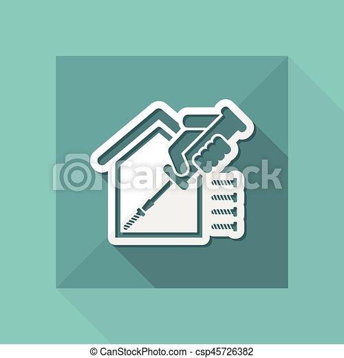 Reparación del hogar - csp45726382