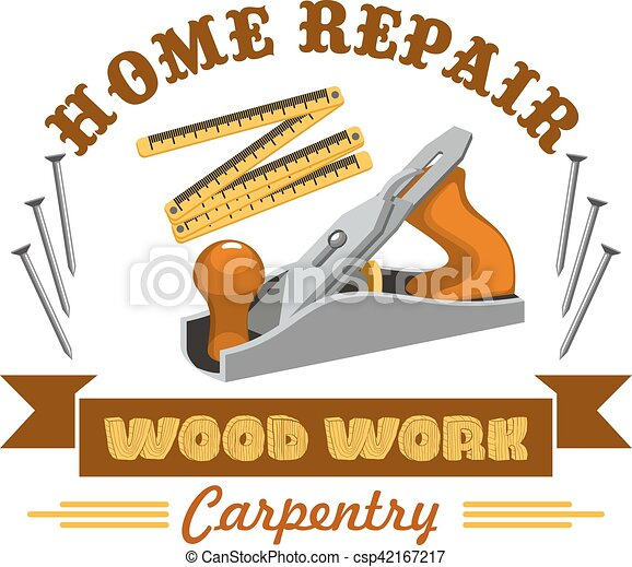 El símbolo de la reparación del hogar con instrumentos - csp42167217