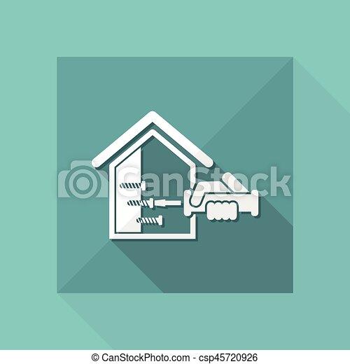 Reparación del hogar - csp45720926