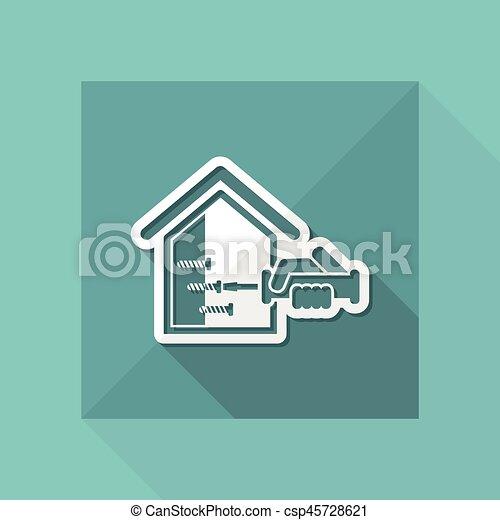 Reparación del hogar - csp45728621