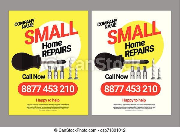 La plantilla de correos para los servicios de reparación de hogares. - csp71801012