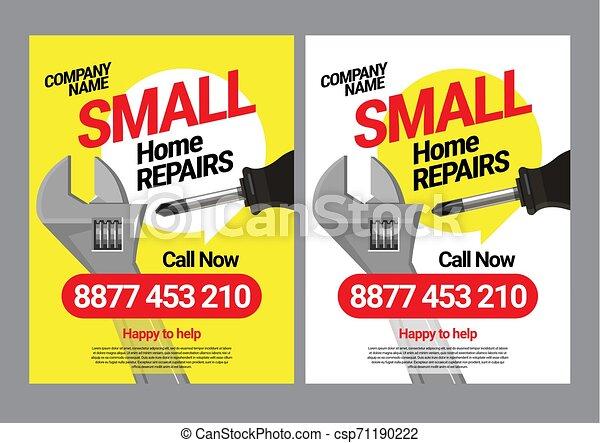 La plantilla de correos para los servicios de reparación de hogares. - csp71190222