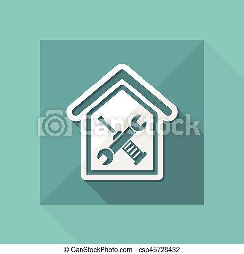 Reparación del hogar - csp45728432
