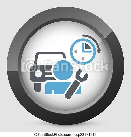 Reparación de coches - csp23171815