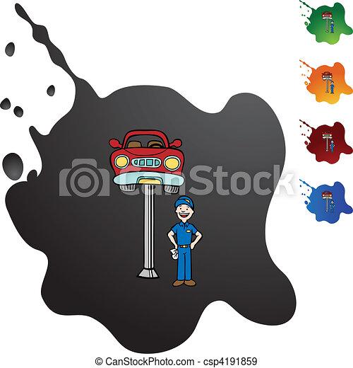 Reparación de autos - csp4191859