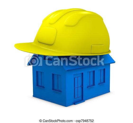 Construcciones o reparación de una casa - csp7948752
