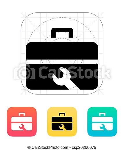 Reparar el icono de la caja de herramientas. - csp26206679