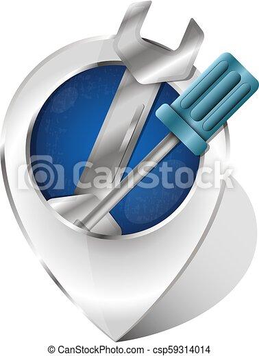 Símbolo de reparación - csp59314014