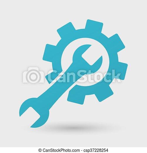 Icono de reparación Vector - csp37228254