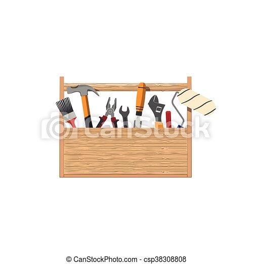 Toolbox. Un juego de herramientas para reparar el hogar - csp38308808
