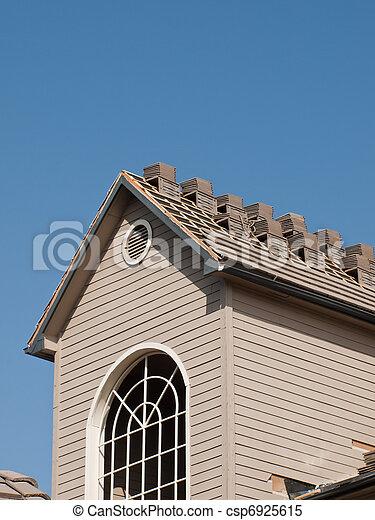Reparación de techos - csp6925615