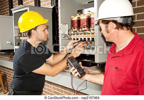 reparar, centro distribuição, poder - csp2197464