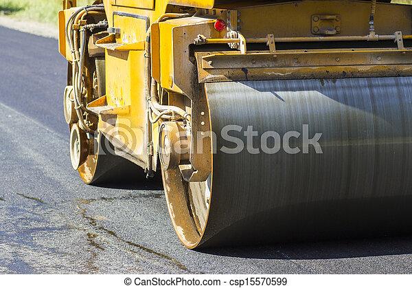 reparar, construção, rodovia - csp15570599