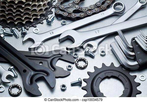 reparatur, fahrrad - csp10034579