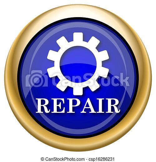 reparera, ikon - csp16286231