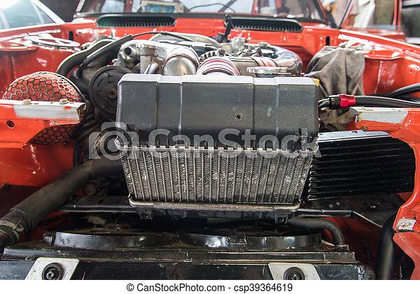 Reparieren Garage Altes Auto