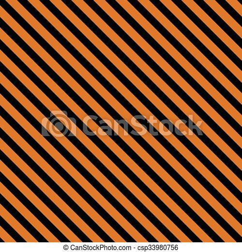 Repeatable yellow / orange industrial feel background with diagonal lines, stripes - csp33980756
