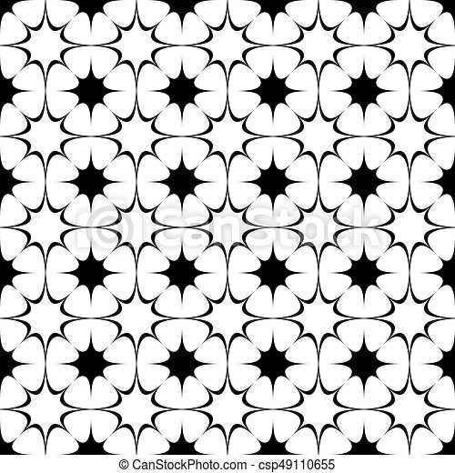 repeating abstract black and white curved star pattern clipart rh canstockphoto com halftone vector free halftone vector free download