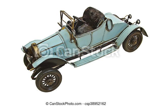 Replica of an Antique Car - csp38952162