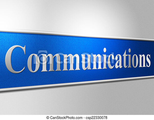 représente, réseau, bavarder, communications globales, informatique - csp22330078