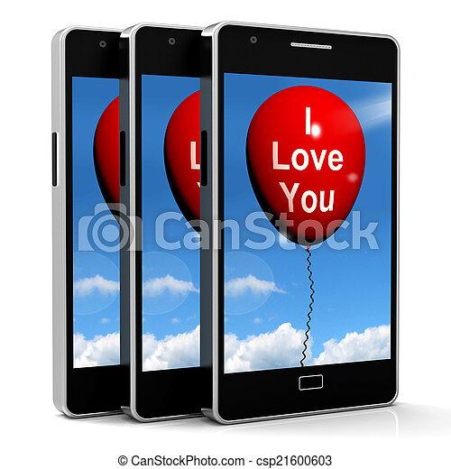 representa, amantes, amor, balloon, pares, tu - csp21600603