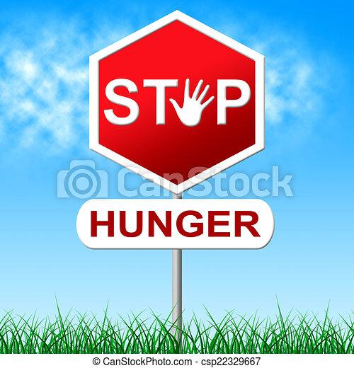 como detener el hambre