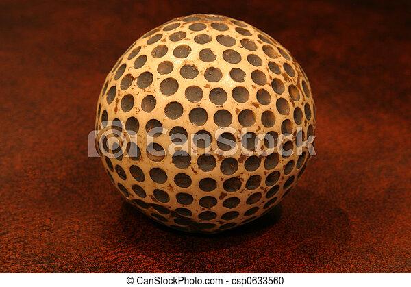 reproduktion, golf- kugel - csp0633560