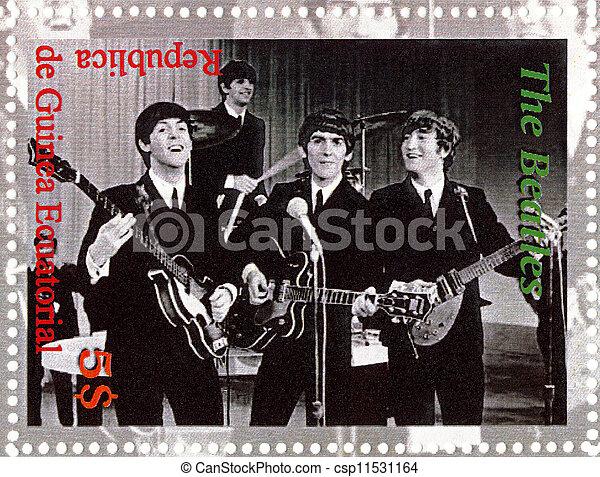 Republic Guinea Ecutorial Circa 2003 The Beatles
