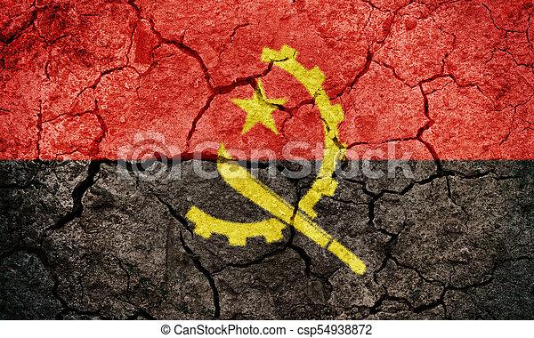 Republic of Angola flag - csp54938872